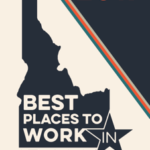 Seal of the Best places to work in Idaho 1017 award