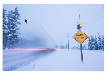 Doppler-biased radar detection system near Bonners Ferry, Idaho.