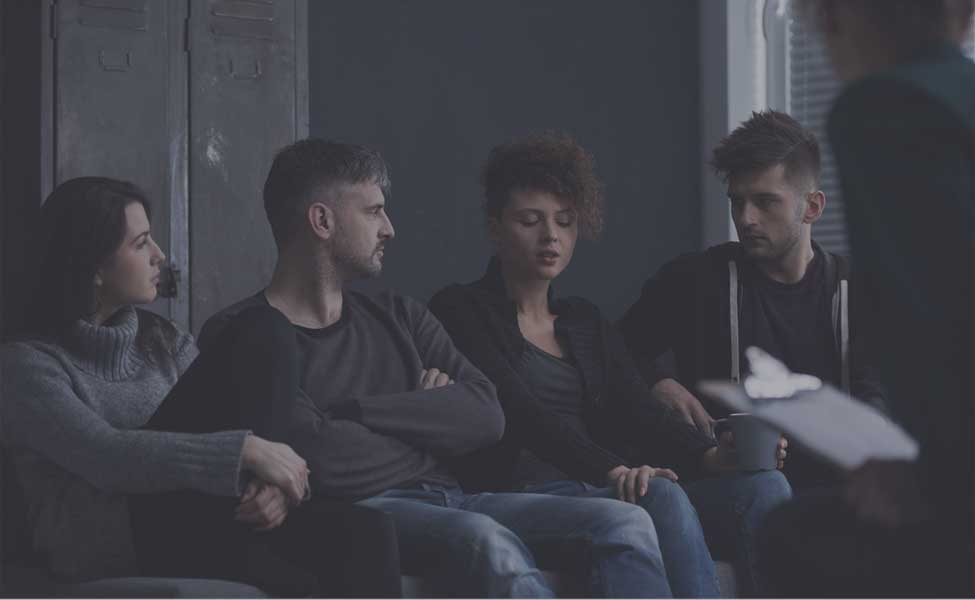 Sober Living Homes - Group of people supporting each other