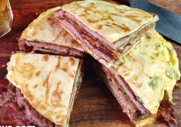 Bacon And Egg Quesadillas