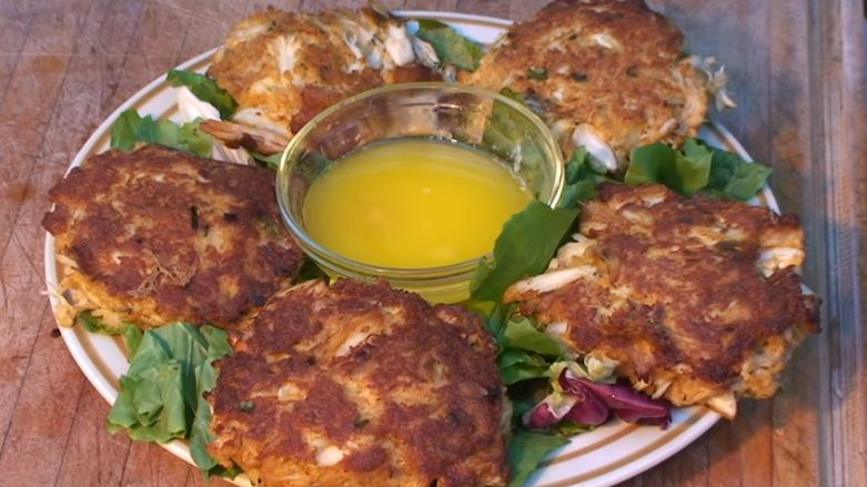 Crab Cakes On The Grill