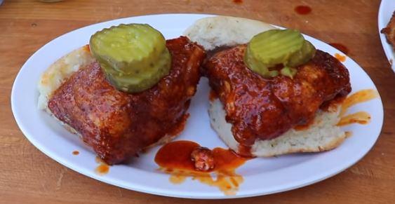 Grilled Nashville Hot Chicken