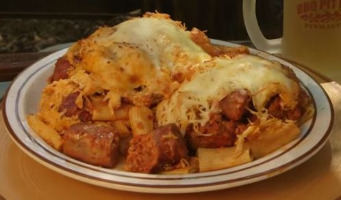 Pasta With Meat And Cheese