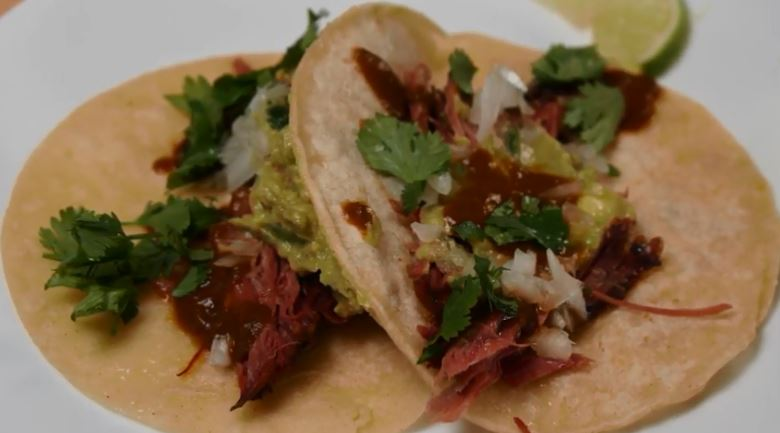 Smoked Beef Shank TACOS