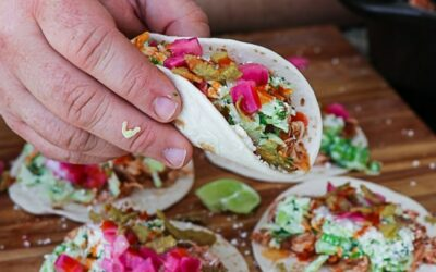 Smoked Turkey Tacos