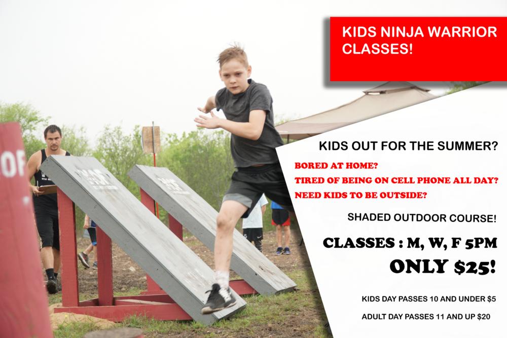 Kids Ninja Classes