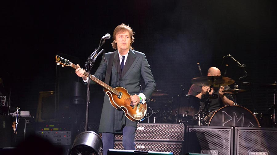 Sir Paul McCartney had 90,000 Bonnaroovians on their feet singing and celebrating for nearly three hours!