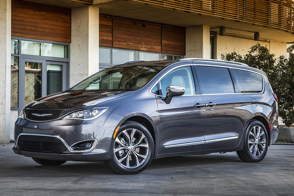 The 2017 Chrysler Pacifica's one problem.