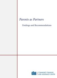 """Download the """"Parents as Partners"""" Report"""