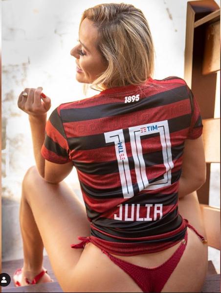 Júlia Katerine, Musa do Flamengo, acredita no título da Libertadores -  Tribuna da Bola
