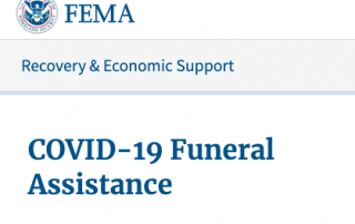 FEMA COVID Funeral Assistance