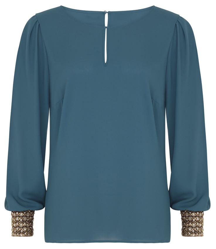 TRPYT PARTY Bluza se zdobenymi rukavy 1199 Kc-scr