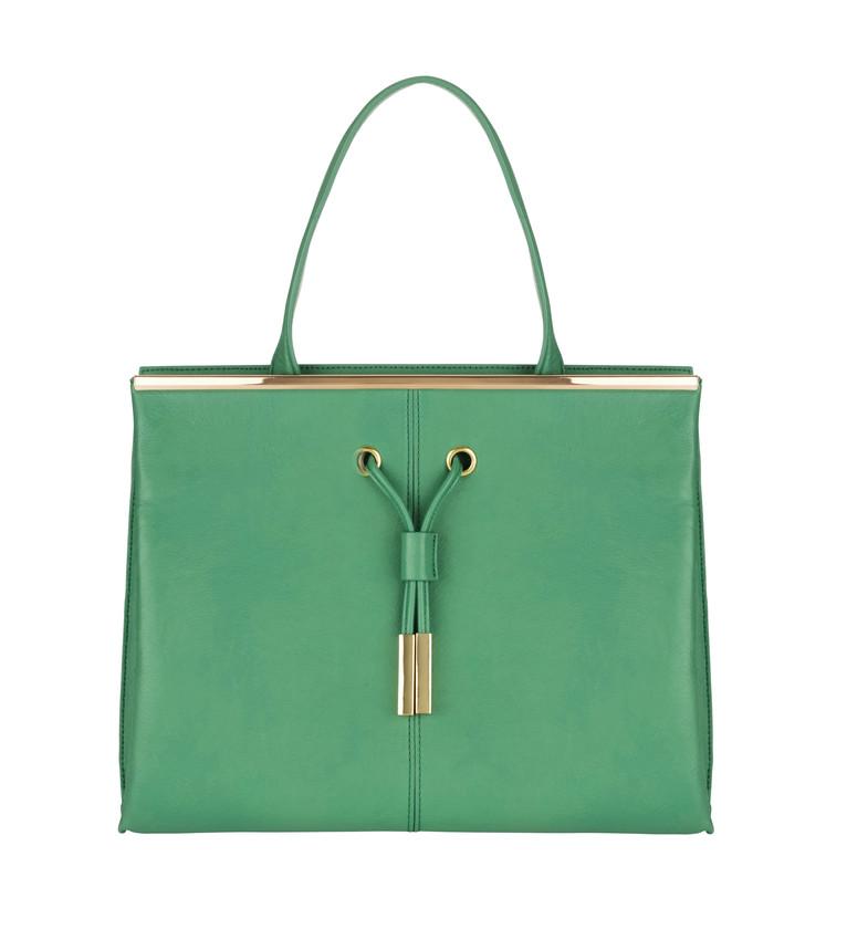 Zelena kabelka M&S Collection 1499 Kc-scr