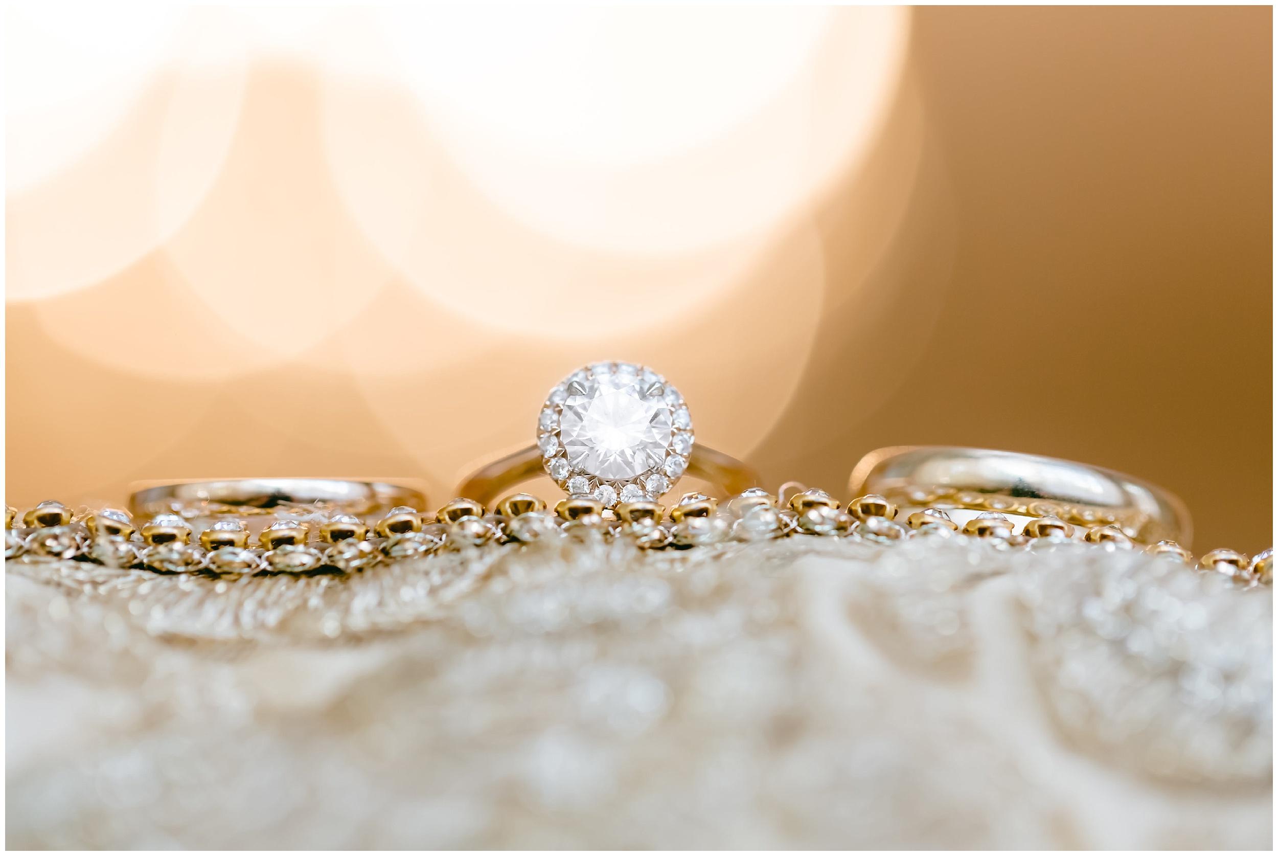 bride engagement ring detail wedding Washington DC
