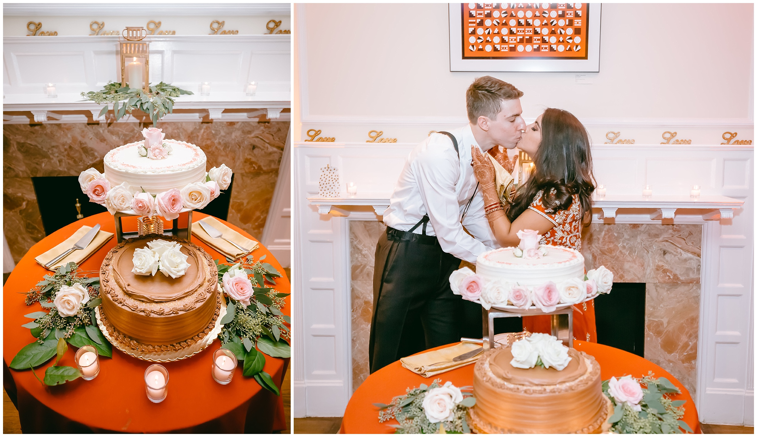 cake cutting Whittemore House wedding Washington DC