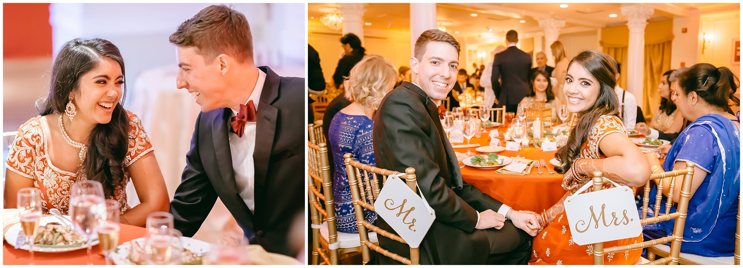 reception just married bride groom toasts Whittemore House wedding Washington DC