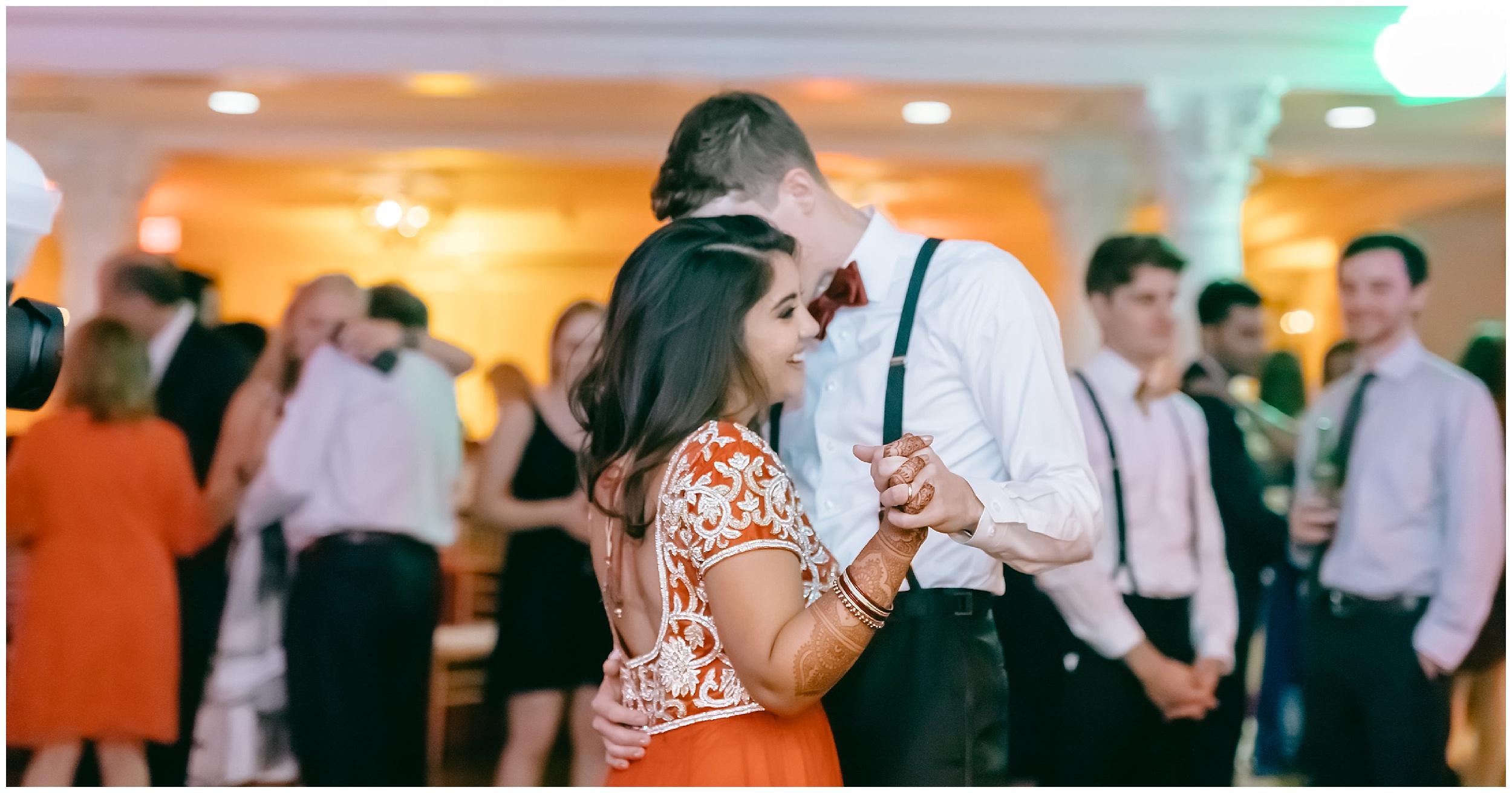 bride groom husband wife dance reception Whittemore House wedding Washington DC