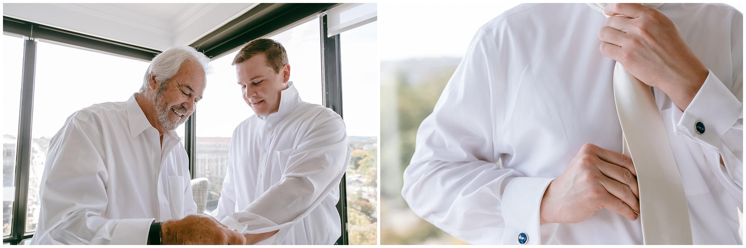 wedding-groom-father-getting-dressed-washington-dc-photographer