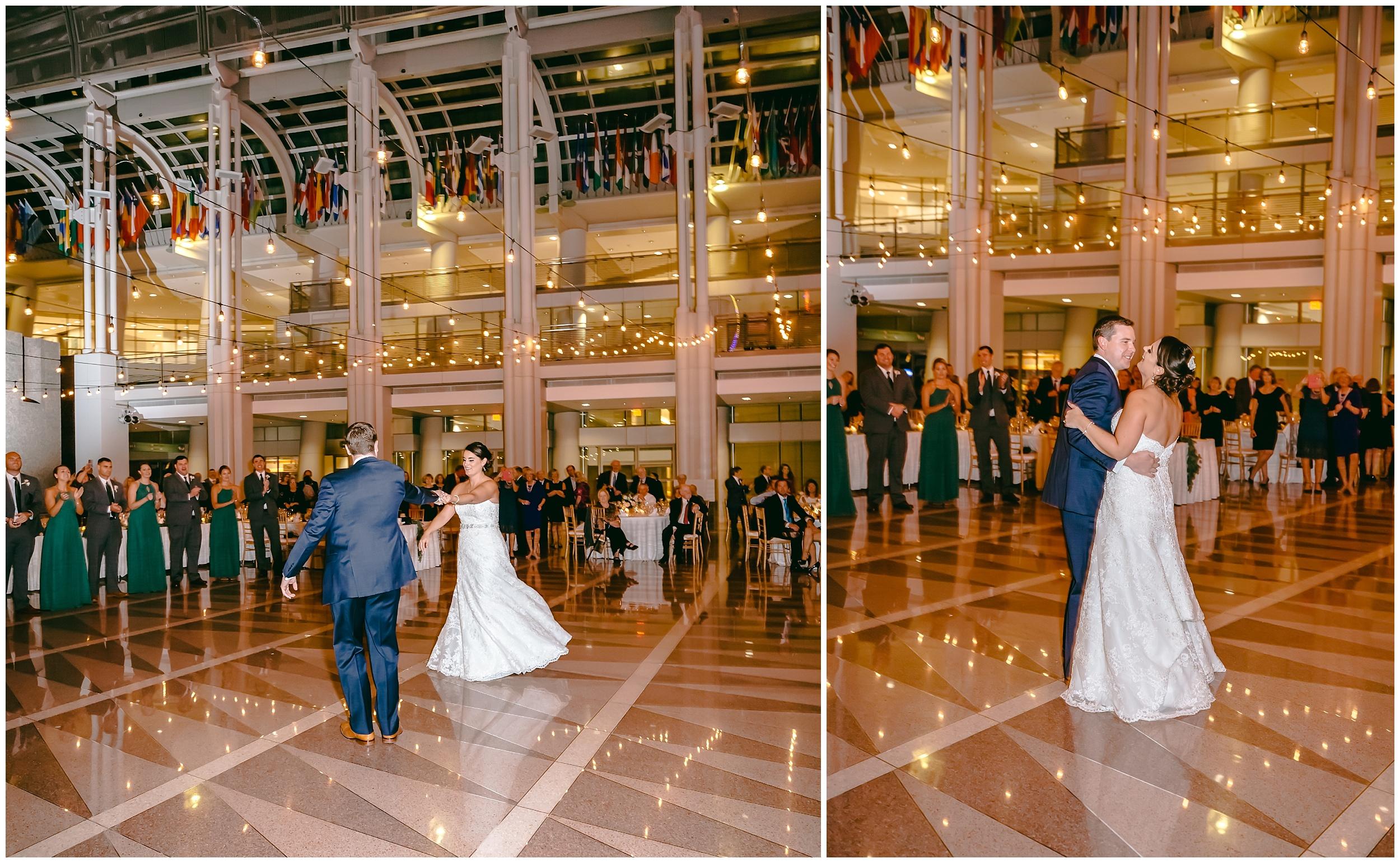 wedding-reception-bride-groom-entrance-first-dance-ronald-reagan-washington-dc-photographer