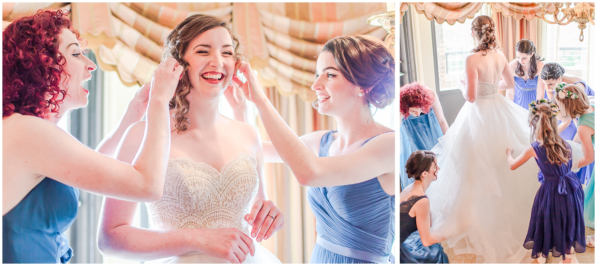bride-sisters-getting-ready-bridesmaids