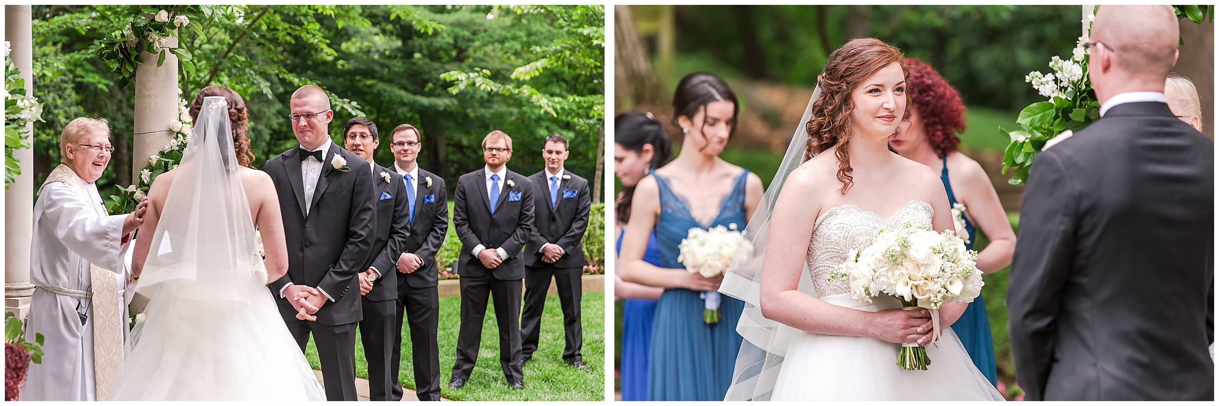 Irish Springtime Omni Shoreham Wedding ceremony-wedding-bride-groom