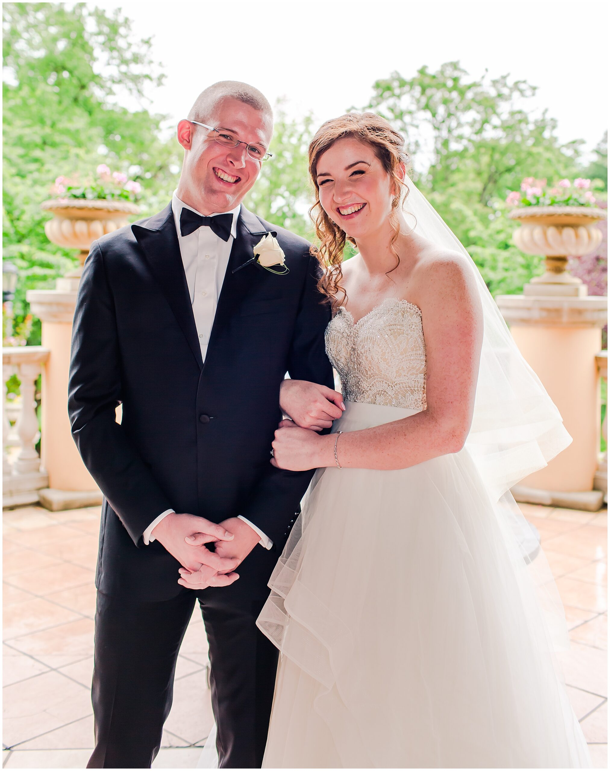 Irish Springtime Omni Shoreham Wedding bride-groom-formal-portrait-just-married