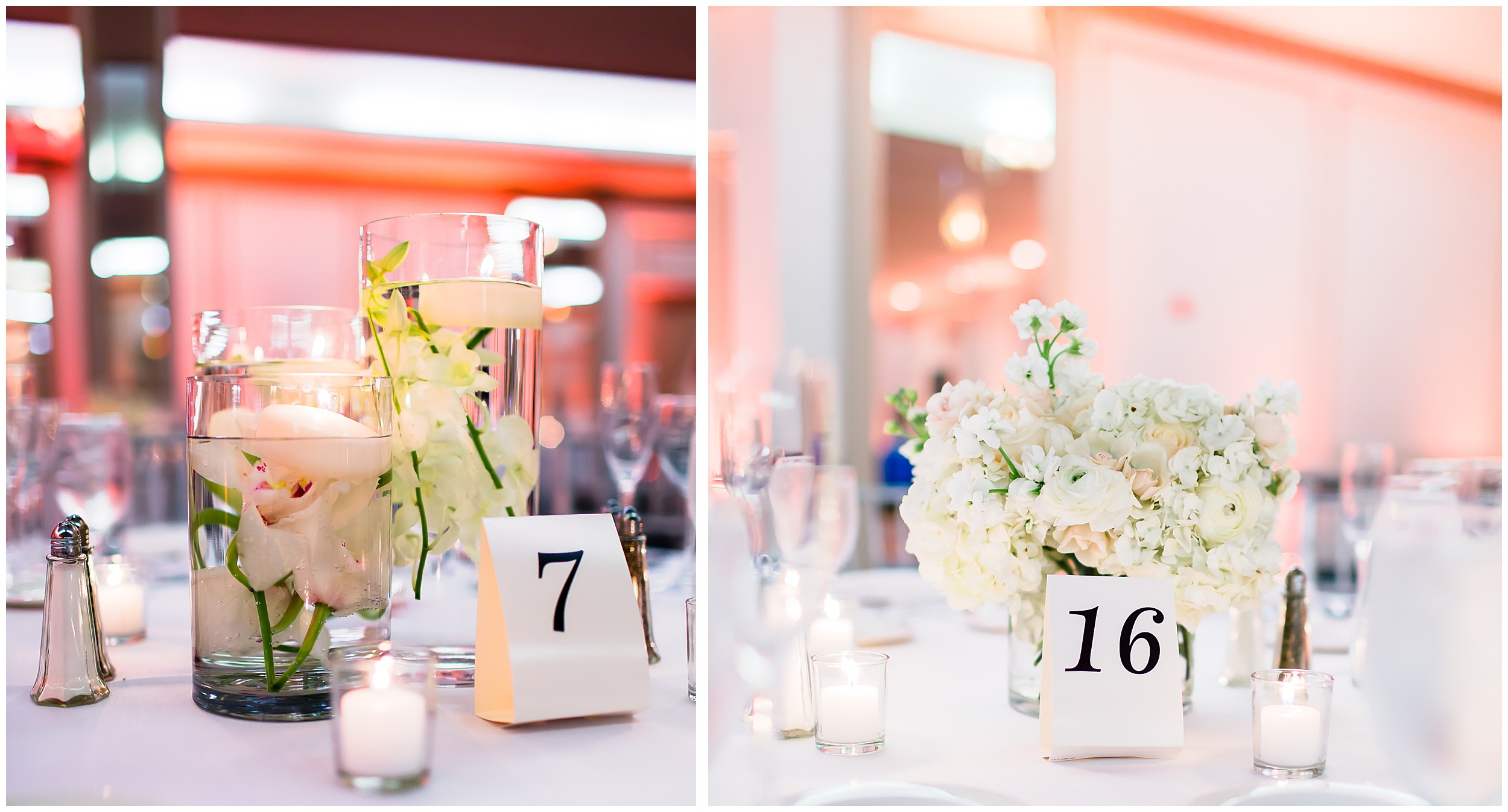 reception-details-flowers-hurricane-glasses-votives