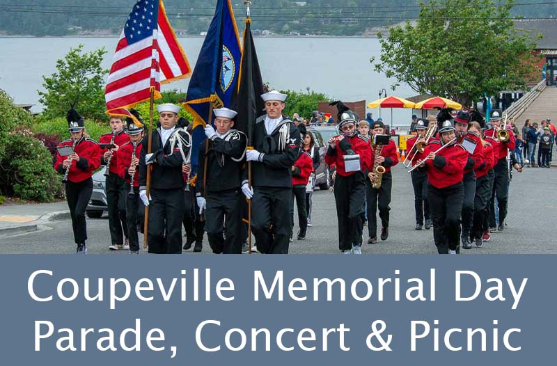 Coupeville Memorial Day Parade, Concert & Town Picnic