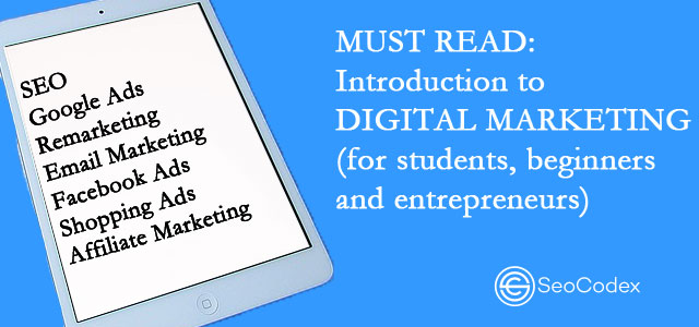 Digital Marketing Introduction
