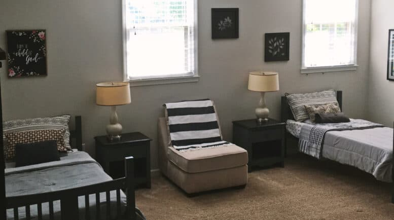 Womens Halfway House - Threshold-Recovery Bedroom