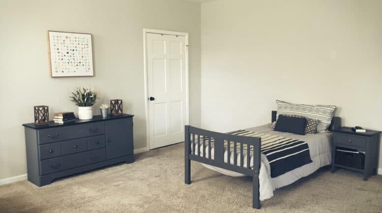 Rehabilitation for women - Threshold-Recovery Bedroom area