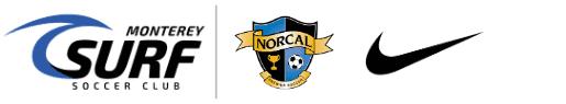 Monterey Surf Soccer Club Logo