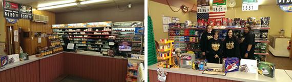 Employees at Glassport Puff Discount Tobacco Vape Smoke Shop