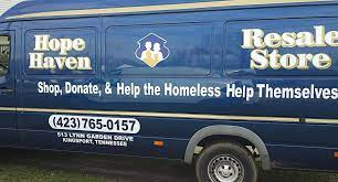 Hope Haven Ministries of Kingsport - we will provide local pick up for donations.  Call to schedule.