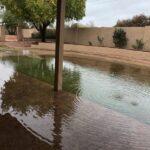 Improper drainage