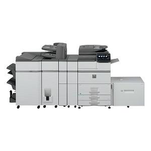 Sharp MX-M754 high-speed, monochrome, high-volume printer, copier, scanner, fax, mfp