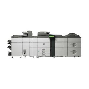 Sharp MX-7040N high-speed, high-volume, color printer, copier, mfp, scanner, fax, advanced finishing