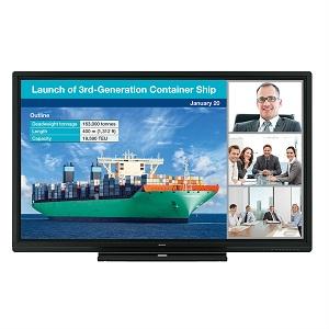 Sharp Aquos Board PN-C805B interactive touch screen display