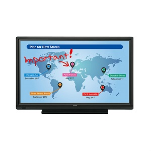 Sharp Aquos Board PN-L603W interactive touch screen display