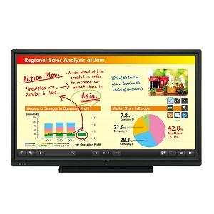 Sharp Aquos Board PN-L703B interactive touch screen display