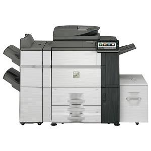 Sharp MX-7580N MFP, copier, printer, scanner, fax - high-speed/volume, advanced
