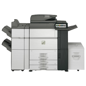 Sharp MX-6580N MFP, copier, printer, scanner, fax - high-speed/volume, advanced