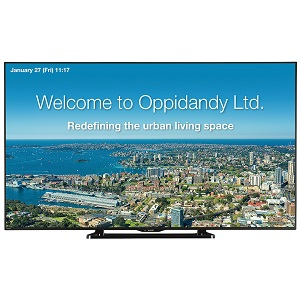 Sharp PN-LE701 professional commercial video display