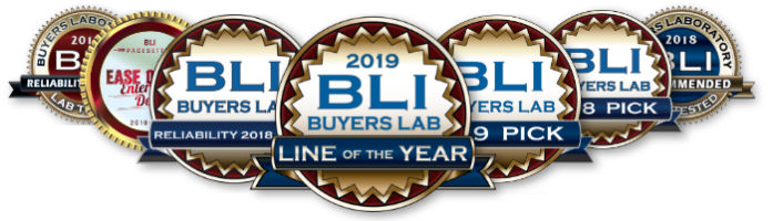 Sharp awarded 2019 copier mfp line of the year by Keypoint Intelligence - Buyer's Lab Inc (BLI)