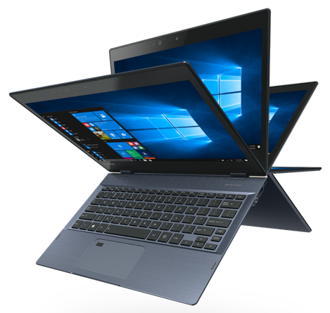 Portege X20W convertible laptop tablet elegantly engineered for business and daily working