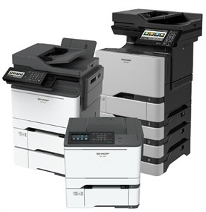 Photo of Sharp's new desktop MFPs and Printers
