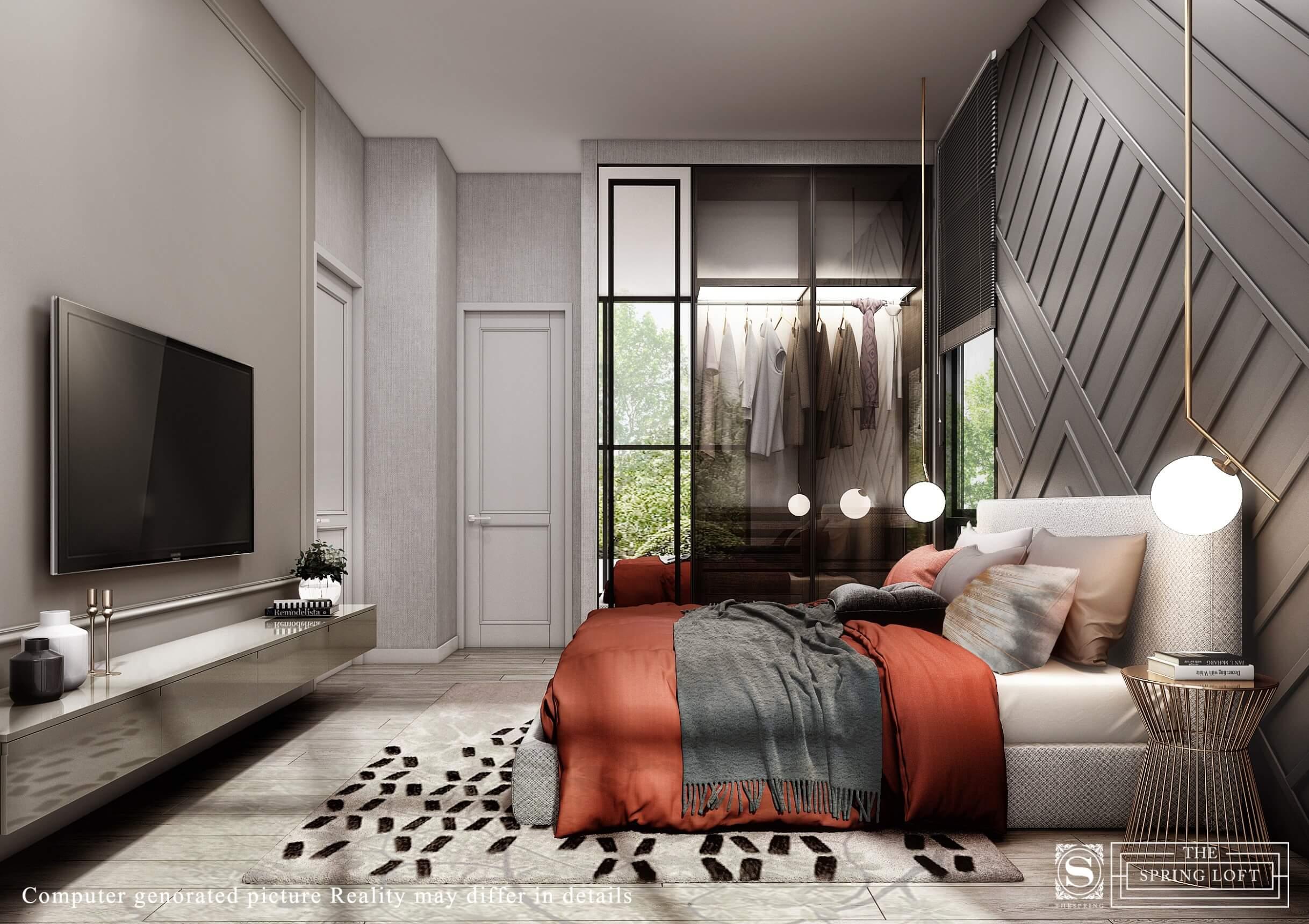 The Spring Loft 2 Bedroom