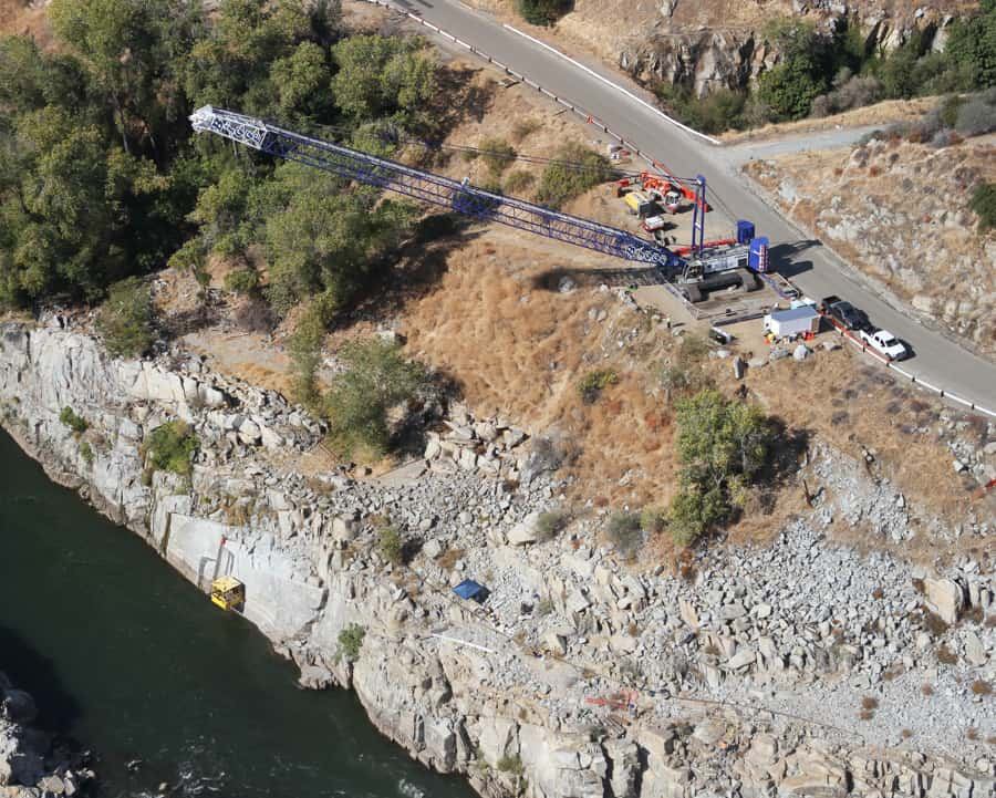 Folsom Dam Right Bank Stabilization