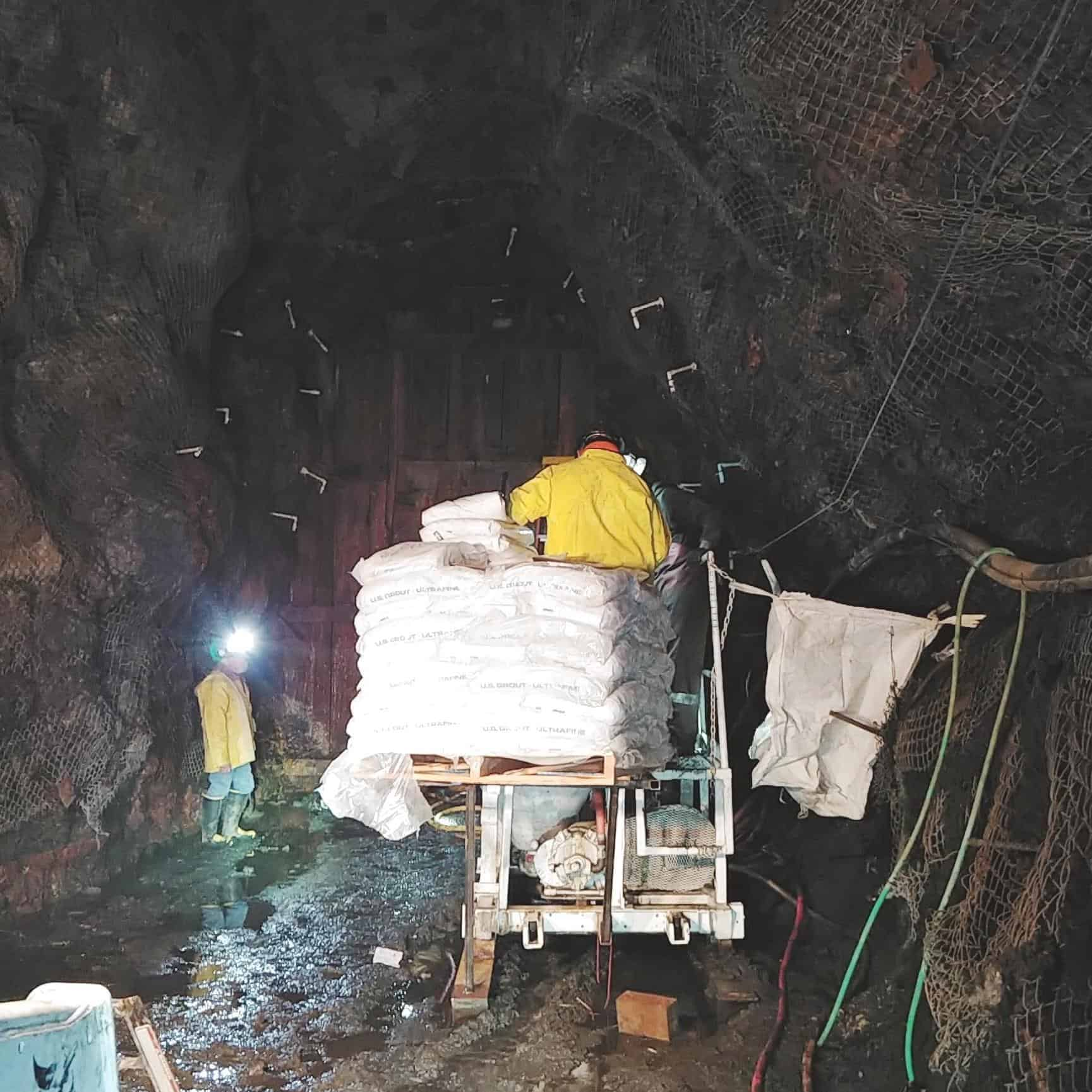 Water Seepage Reduction at Triumph Mine