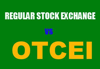 OTCEI vs Regular Stock exchange